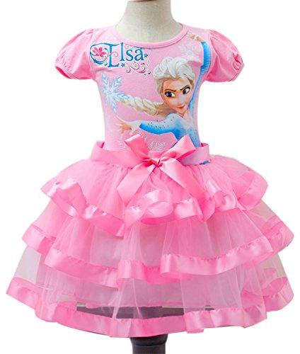 Elsa Printed Tutu Dresses