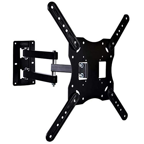 Caprigo Strong and Sturdy TV Wall Mount Bracket for 14 to 45 inches LED/4K/HD/Smart TV, Universal Full Motion Tilt & Swivel TV Wall Stand (Black-M456) 113