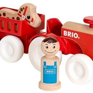 BRIO Farm Tractor Set 41O0v I 2BkUL