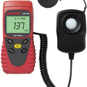 Amprobe Light Meter, Silicon Photodiode and Filter