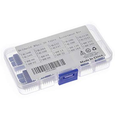 Bridgold-40pcs20pcs-74HCxx20pcs-74LSxx-Series-Logic-IC-Assortment-Kit