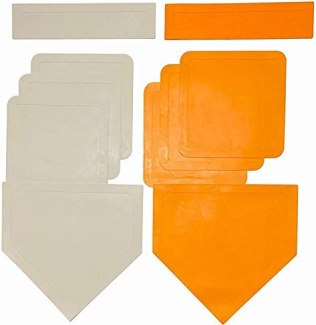 Coast Athletic Throw Down Baseball Bases | Available in White and Orange
