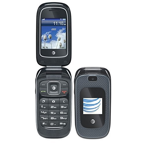 ZTE Z222 3G GSM (at&t) Unlocked Flip Phone with...