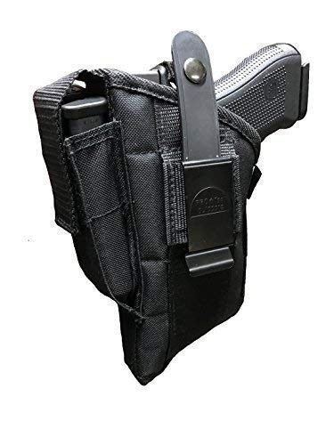 Pro-Tech Outdoors Fits Gun With Laser for Smith & Wesson M&p Sigma 9mm 40 V Side Holster Glock 17,19,22,31,33,23,32,25,38. Beretta Storm Px4, Type F : 9mm.40