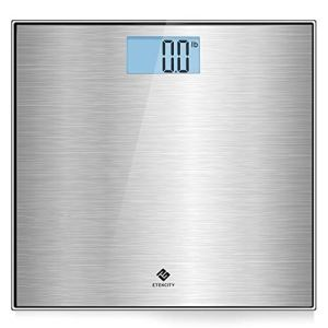 Etekcity Stainless Steel Digital Body Weight Bathroom Scale, Step-On Technology, Large Blue LCD Backlight Display,400… 2