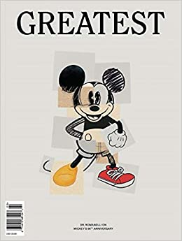 Greatest Magazine Issue   Dr Romanelli On Mickey Mouses Th Anniversary Cover Single Issue Magazine