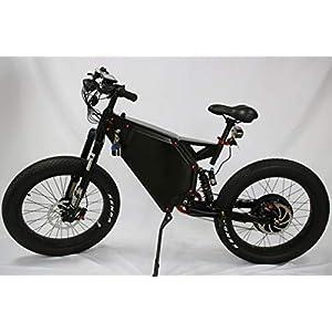 C&E 8000w/72v Fat Tire Electric Moped Scooter Beach Mountain Ebike 100-120km/h