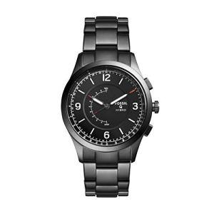 Fossil Hybrid Smartwatch – Q Activist Smoke Stainless Steel FTW1207