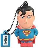 Tribe DC Comics Warner Bros. Pendrive Figure 16 GB Funny USB Flash Drive 2.0, Keyholder Key Ring, Superman (FD031501)