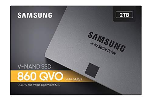 Samsung 860 QVO 2 TB SATA 2.5 Inch Internal Solid State Drive (SSD) (MZ-76Q2T0)