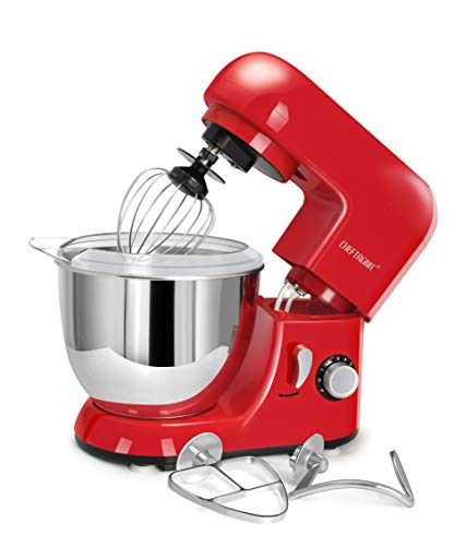 CHEFTRONIC-Red-Standing-Mixer