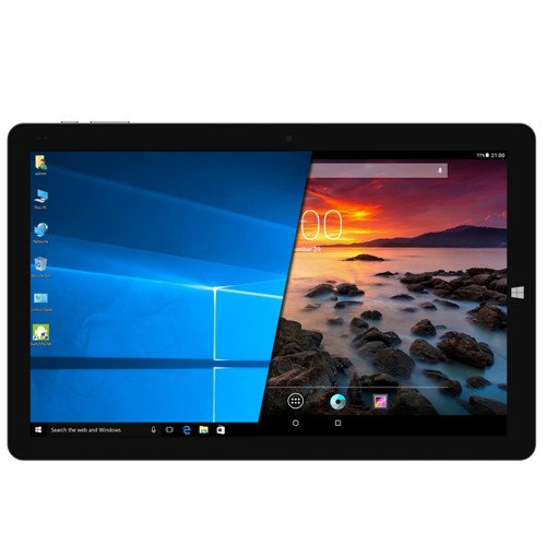 CHUWI Hi10 Pro 10.1 inch Windows 10/Android 5.1 Dual Boot 2-in-1 Tablet PC,featuring Intel X5 Processor,4GB RAM/64GB ROM,FHD Screen(1920x1200) with Type C,HDMI and Stylus support