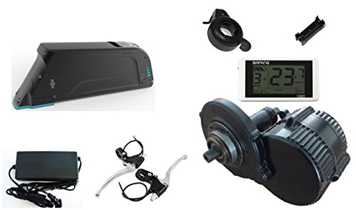 Biktrix 48V 500W DIY Electric Bike Complete Kit - Mid/Crank motor (500W) including battery