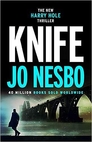 Image result for jo nesbo knife