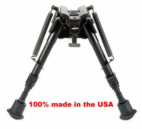 BRMS Harris bipod, 6' to 9' Swivels (tilts),...