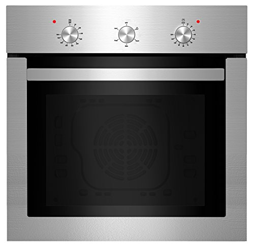 Empava 24' Push Buttons Electric Built-in Economy Under-Counter Stainless Steel Single Wall Ovens EMPV-24WOA01-LTL