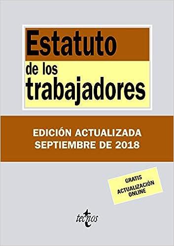 Libro PDF Gratis Estatuto de los Trabajadores (Derecho - Biblioteca De Textos Legales)