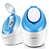 Facial Steamer Nano Ionic Hot Steam For Face Personal Sauna Spa Quality Moisturizing Pores Cleanse...