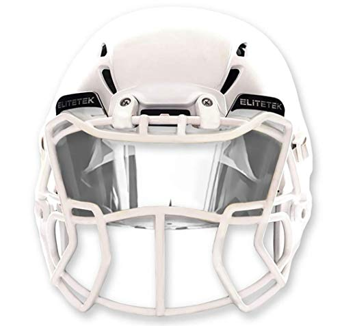 EliteTek Clear Football Visor Eyeshield Universal