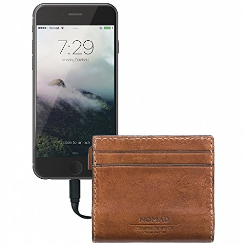 Nomad Slim Horween Leather Charging...