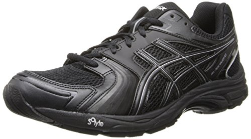 Asics Men's Gel-Tech Walker Neo 4 Walking Shoe,Black/Black/Silver,10 M US