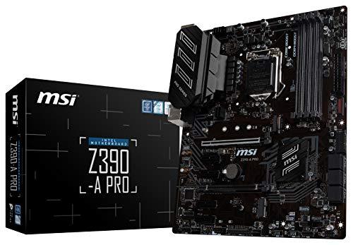 MSI-Z390-A-PRO-LGA1151-Intel-8th-and-9th-Gen-M2-USB-31-Gen-2-DDR4-HDMI-DP-CFX-Dual-Gigabit-LAN-ATX-Z390-Gaming-Motherboard