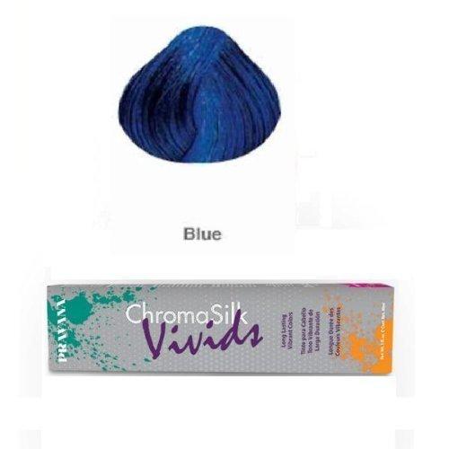 PRAVANA ChromaSilk Vivids Creme Hair Color with Silk & Keratin Protein (BLUE)3 fl oz