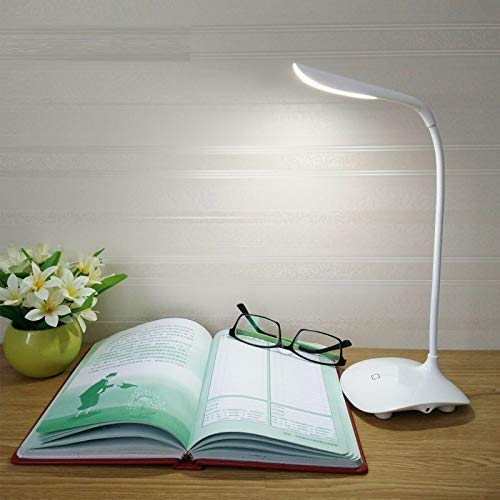 LED Touch Table Lamp USB Rechargeable