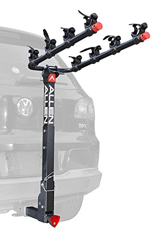 Allen Sports Deluxe Locking Quick Release 4-Bike Carrier for 2' Hitch
