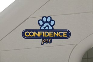 Confidence-Pet-Waterproof-Plastic-Dog-Kennel-Outdoor-Winter-House