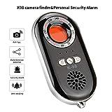 ILYO Anti-spyware Hidden Camera, Wireless Signal Scanner Travel Detector Portable Personal Security Alarm Safe Motion Vibration Sensor for Family, Men, Women, Children