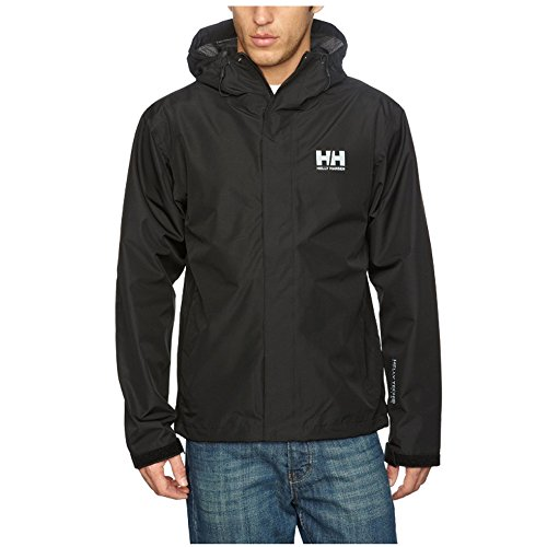 Helly Hansen - Men's Seven J Waterproof Windproof Breathable Rain Coat Jacket