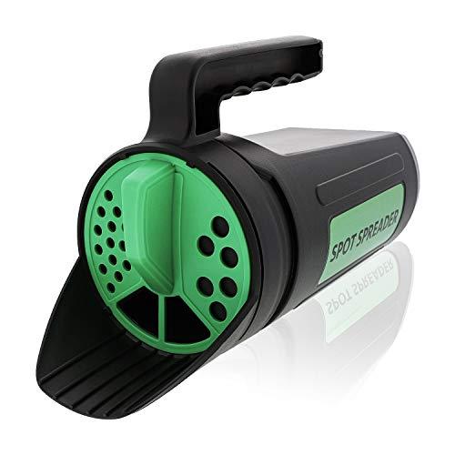 Spot Spreader Hand Spreader Shaker for Seed, Salt, De-Icer, Ice Melt, Earth Food and Fertilizer -...