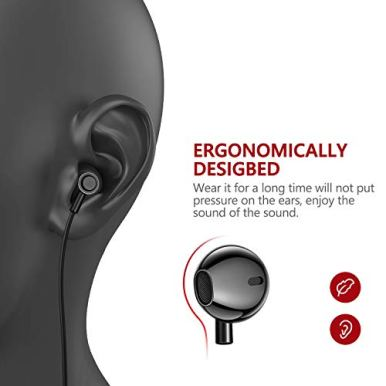 Ecouteurs-Anti-Bruit-Ergonomique-oreillette-Filaire-stereo-avec-Micro-et-Bouton-de-integre-contr-Le-de-la-Musique-pour-Tout-AppareilSamsungXiaomiSonyHuawei-pc-Noir