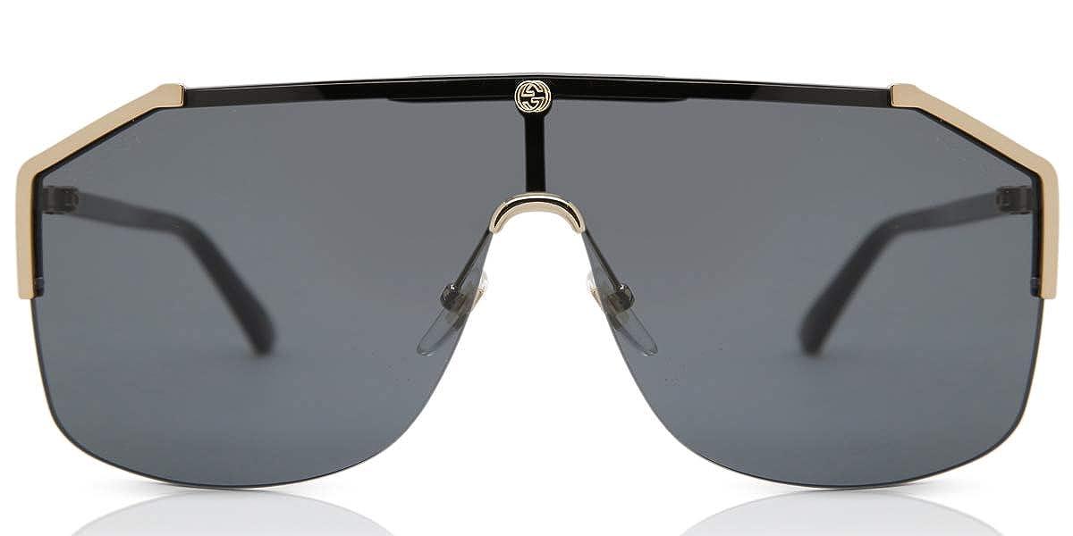 GUCCI GG0291S 001 GOLD BLACK GREY oro nero grigio