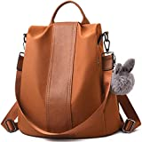 Charmore Women Backpack Purse Waterproof Nylon Schoolbags Anti-theft Rucksack Shoulder Bags
