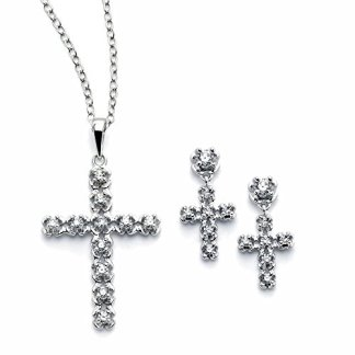 Cross Bridal Jewelry