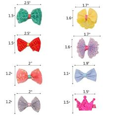 pony-princess-Dog-Bows-Hair-Accessories-with-Clip-Pet-Grooming-Products-Puppy-Small-Bowknot-Handmade-Mix-Styles-Small-Middle-Hair-Bows-Topknot-32PCS16Pairs-or-30PCS15pairs