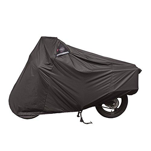 Dowco Guardian 51614-00 WeatherAll Plus Indoor/Outdoor Waterproof Motorcycle Cover: Black, Adventure Touring