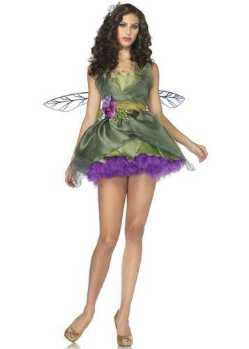Leg Avenue Women's Woodland Fairy Costume, Green, Large