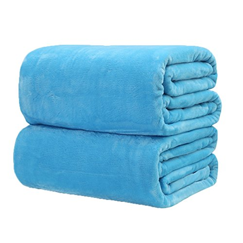 TiTa-Dong Fleece Flannel Blankets Throws Plush Velvet Soft Blankets Baby Bed Couch Sofa Pet for Single , Travel , Twin , Full , Queen or King Size Bed 1Pcs