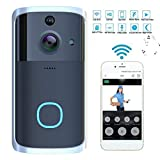 Qenci Visual WiFi Doorbell Intelligent Electronic Surveillance Camera Anti-Theft Household Kits