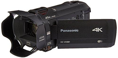 Panasonic-4K-Ultra-HD-Video-Camera-Camcorder-HC-VX981K-20X-Optical-Zoom-123-Inch-BSI-Sensor-HDR-Capture-Wi-Fi-Smartphone-Multi-Scene-Video-Capture-Black
