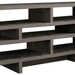 Monarch Specialties , TV Console, Dark Taupe Reclaimed-Look, 48″L