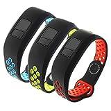 Replacement Bands Compatible for Garmin Vivofit 3/Vivofit JR/Vivofit JR. 2-HMJ Band Breathable Adjustable Wristband Straps Band for Vivofit 3/Vivofit JR/JR. 2 Bracelet Avaiable for Men Women Kids