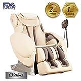 Daiwa Massage Chair Inversion Stretch Massage Chairs Relax 2 Zero 1.0 (Beige)