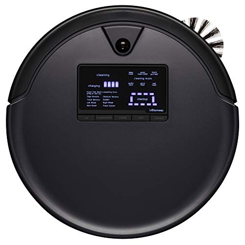 bObsweep Pet Hair Plus Robotic Vacuum Cleaner and Mop, Midnight 1