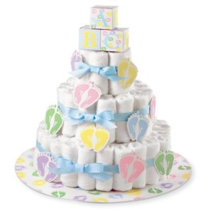 Wilton Diaper Cake Kit, Other, Multicoloured, 4.1 x 24.22 x 28.67 cm 41PZnoujy8L