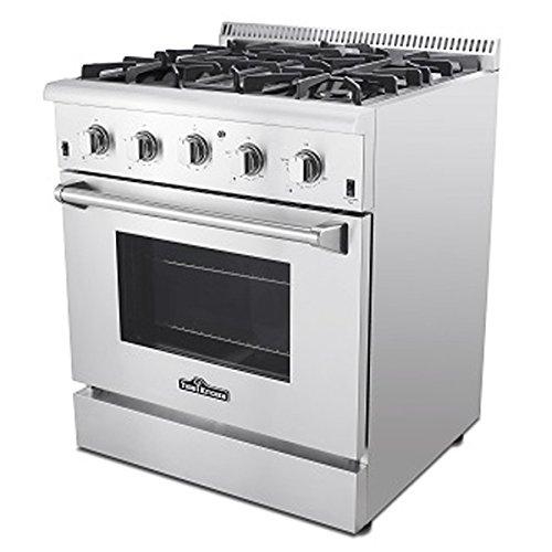 ThorKitchen Professional 30 Inches HRG3080U 4.2 cu.f t.Oven 4 Burners Gas Range