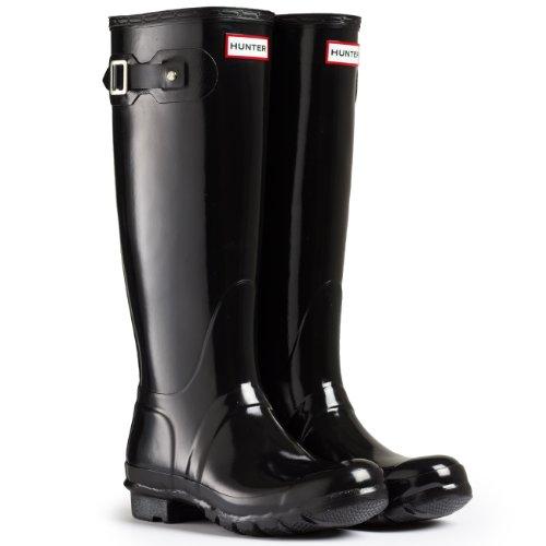 tall gloss rain boot